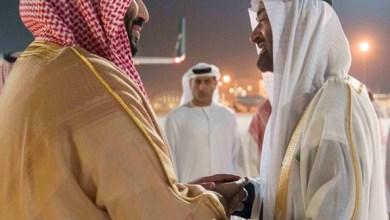 Photo of ولي عهد السعودية يصل إلى الإمارات و محمد بن زايد في مقدمة مستقبليه
