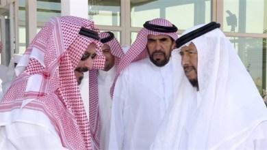 Photo of سلطان بن زايد يستقبل الشاعر السعودي عبدالله بن عون