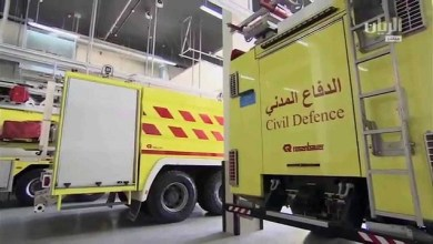 "Photo of الدفاع المدني يوضح حقيقة توجه فرقة من ""مدني الخفجي"" إلى الكويت"