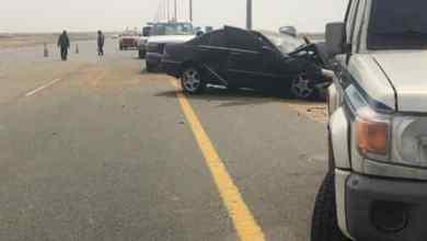 Photo of بالصور: إصابة 7 أشخاص بينهم حالة خطيرة في حادث مروري على طريق الساحل بجدة