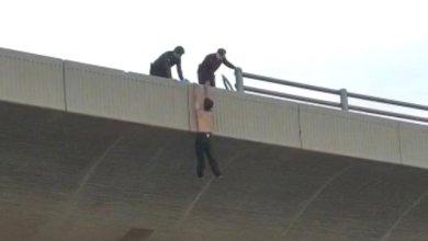 Photo of تفاصيل محاولة انتحار شاب من فوق جسر بجدة