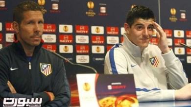 Photo of كورتوا يهاجم سيميوني دفاعا عن ريال مدريد