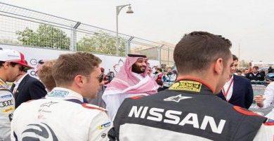 Photo of ولي العهد يشهد ختام سباق فورملا E الدرعية