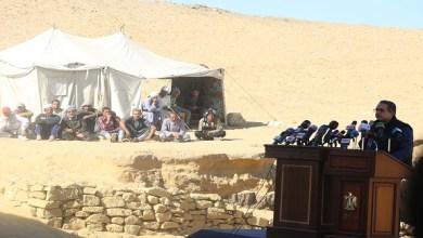 Photo of بالصور: الكشف عن مقبرة فرعونية جديدة بسقارة