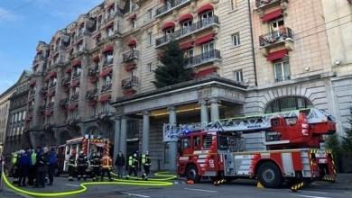 Photo of سويسرا: إخلاء فندق فاخر بعد اندلاع حريق