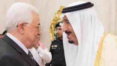 "Photo of ""محمود عباس"" يشكر خادم الحرمين على موقف السعودية الثابت تجاه القضية الفلسطينية"