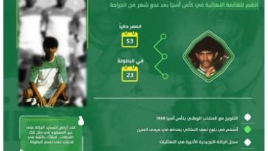 Photo of قصة خبرية ـ الهريفي تجاهل 9 غرز في بطنه وسجل الركلة الحاسمة في نهائيات 1988