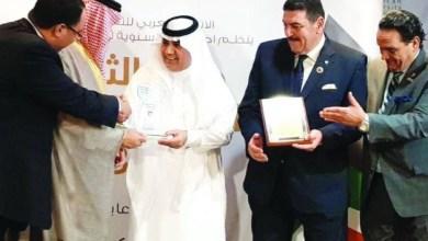 Photo of عراب رياضتنا تركي آل الشيخ يفوز بجائزة أوسكار