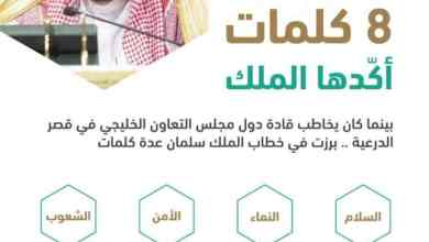 Photo of 8 كلمات أكدها الملك سلمان أمام قادة التعاون الخليجي