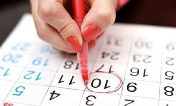طريقة حساب موعد الدورة الشهرية