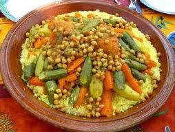 Photo of الكسكس المغربي بالخضر السبعة