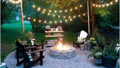 Photo of 10 أفكار لإضاءة عصرية في حديقة المنزل