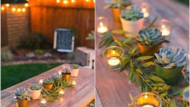 Photo of 9 أفكار لتزيين الحديقة المنزلية للحفلات والمناسبات