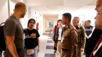 Photo of بالصور حماية الفتاة السعودية رهف قبل مغادرتها الى كندا