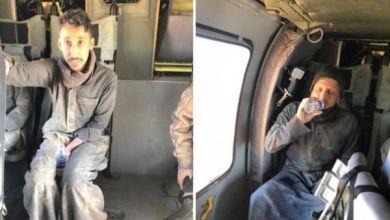 Photo of بالفيديو والصور: طيران الحرس الوطني ينقذ مواطنين احتجزتهم السيول بالحدود الشمالية