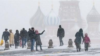 Photo of الثلوج تغلق رحلات جوية وإرجاء أخرى في موسكو