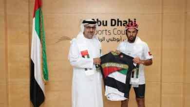 """Photo of الرحالة السعودي """"اليحيا"""" يصل أبوظبي دعماً للأخضر في كأس آسيا """"الإمارات 2019"""""""