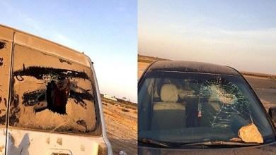 Photo of بالصور: شرطة الطائف تفتح تحقيقا في واقعة تكسير 8 سيارات