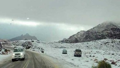 """Photo of """"الأرصاد"""" : استمرار انخفاض درجات الحرارة على شمال وغرب المملكة.. الخميس"""