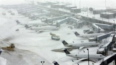 Photo of أمريكا: إلغاء 2500 رحلة جوية بسبب عاصفة شتوية