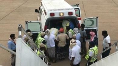 Photo of الهلال الأحمر ينقل مريضة من سقطرى بطائرة خاصة للعلاج في الإمارات