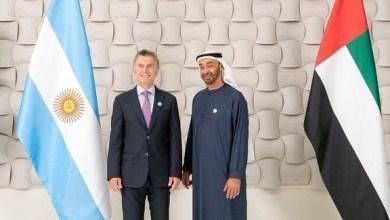 Photo of محمد بن زايد يستقبل الرئيس الأرجنتيني