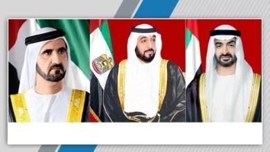 Photo of رئيس الإمارات ونائبه ومحمد بن زايد يعزون السيسي في ضحايا حريق القطار
