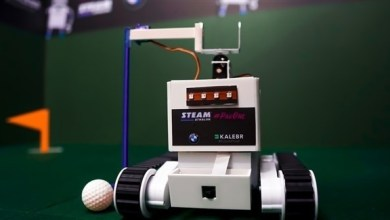 Photo of أول مباراة غولف بين الروبوتات في الإمارات