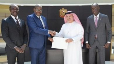 Photo of محمد بن زايد يتلقى رسالة من رئيس ليبيريا