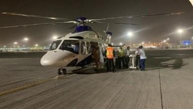 "Photo of أبوظبي: ""الإسعاف الجوي"" ينقل مواطناً تعرض لحادث مروري"