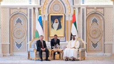 Photo of محمد بن زايد ورئيس أوزبكستان يؤكدان أهمية مضاعفة الجهود الدولية لتحقيق السلام