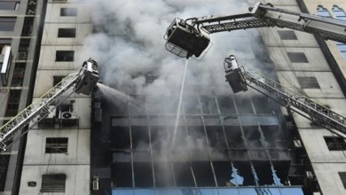 Photo of ارتفاع عدد قتلى حريق في العاصمة البنغالية إلى 17