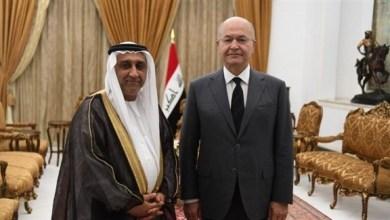 Photo of الرئيس العراقي يثمن مواقف الإمارات تجاه بلاده