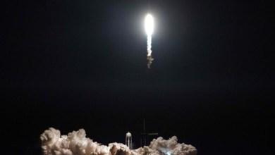 """Photo of مركبة """"سبيس إكس"""" في طريقها للالتحام بمحطة الفضاء الدولية"""