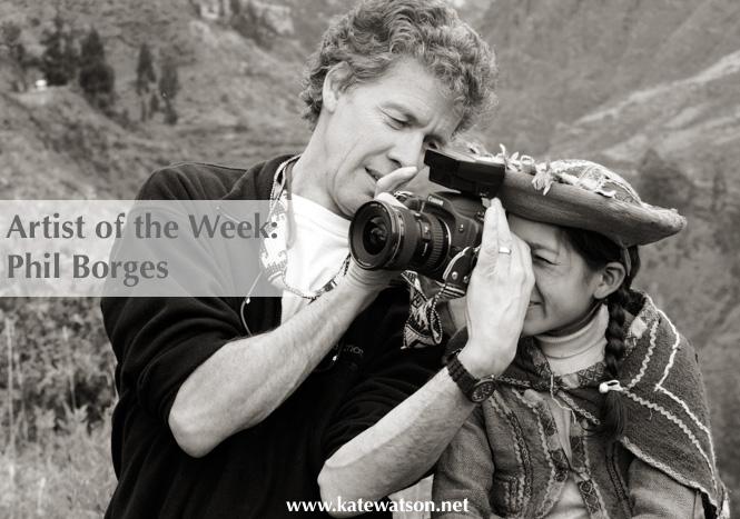 فيل بورجيس مصور اللاجئين