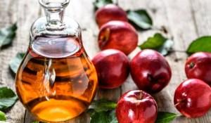 خل التفاح لعلاج الشعر الدهني