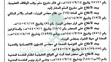 Photo of تفاصيل سلم رواتب المعلمين الجديد الرسمي المعتمد 1440 هـ