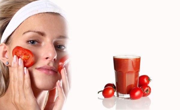 فوائد ماسك الطماطم للوجه