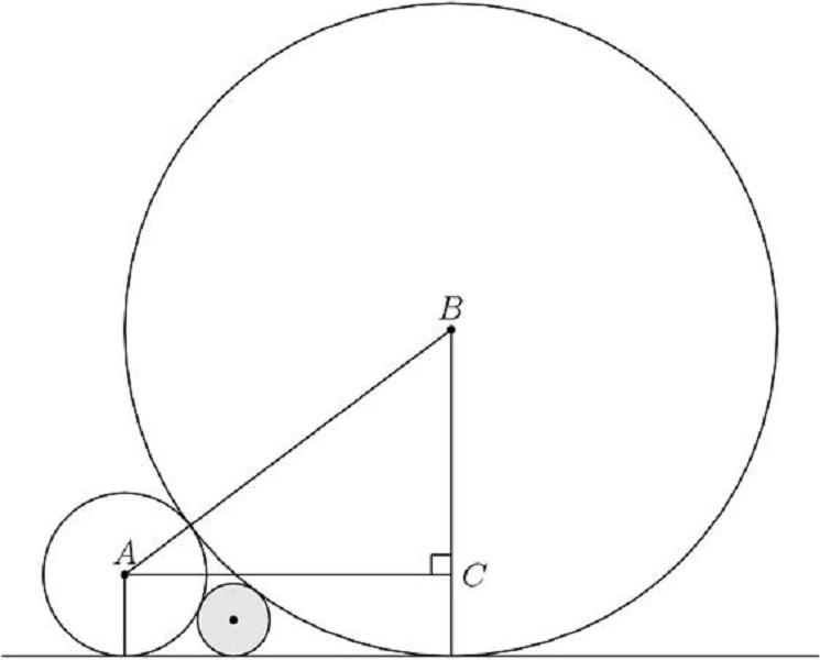 امثلة حساب مساحة الدائرة