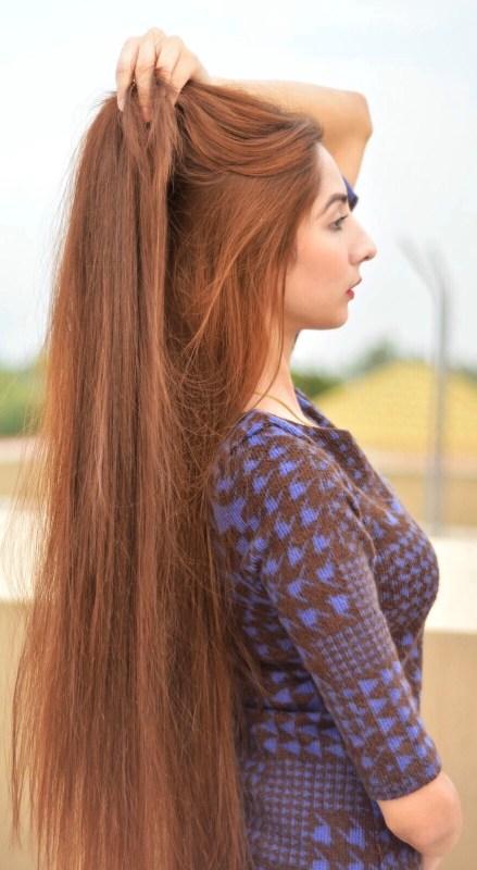 تطويل الشعر في يوم