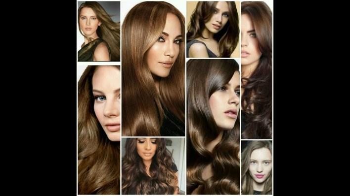 تلوين الشعر بكل الالوان بالحناء والمواد الطبيعية