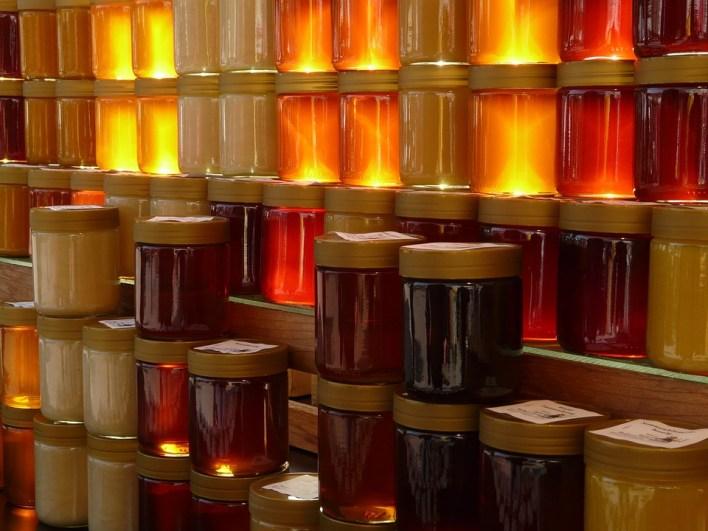 لون عسل النحل