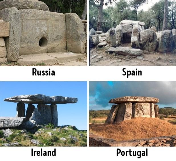 الأحجار المرصوصة