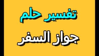 Photo of تفسير حلم جواز السفر