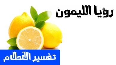 Photo of تفسير حلم الليمون