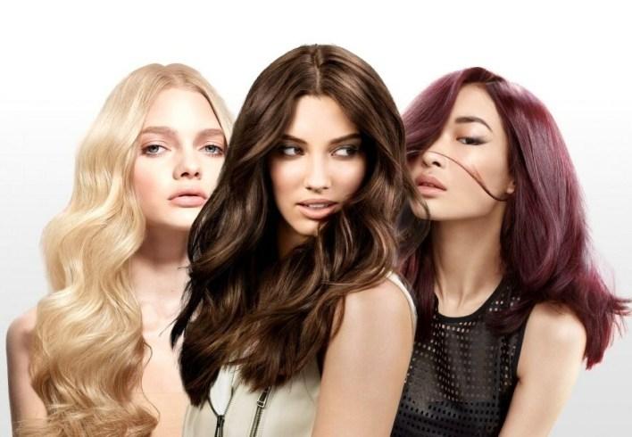 اختيار صبغة الشعر