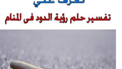 Photo of تفسير حلم الدود في المنام