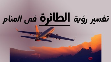 Photo of تفسير رؤية الطائرة في المنام