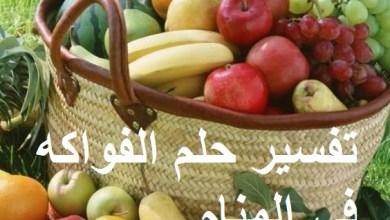 Photo of تفسير حلم الفواكه في المنام