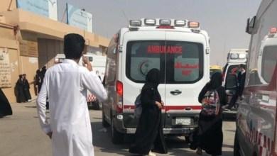 Photo of صور الهلال الأحمر يباشر 13 حالة في مدرسة بنات بالرياض في حالات إغماء وهلع وخوف